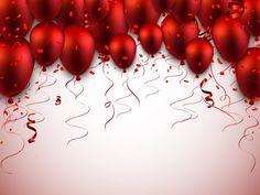 Balloon Background, Glitter Background, Red Background, Birthday Photo Frame, Birthday Photos, Coca Cola Party, Birthday Wishes, Happy Birthday, Certificate Design