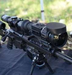 The X39 clip on thermal scope works in conjunction with your day optics for extended range & 24/7 day or night use in any conditions. #thermalscopes #hunting #military #FLIR From SPI Corp, www.x20.org