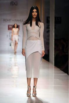 Cue by Rohit Gandhi & Rahul Khanna https://www.facebook.com/pages/Cue-by-Rohit-Gandhi-Rahul-Khanna/99272773820 Harper's Bazaar's best looks from Wills Lifestyle India #SS14 Fashion Week