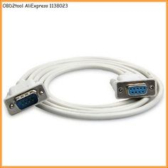 OBD2tool DB9P M/F connector DB9P Female to Male RS232 Extension Cable DB9P Pin F M PC Converter Extension Cable