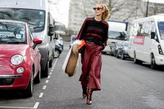 Leather culottes. Street Style Aesthetic – Wayne Tippetts