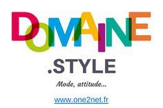 Nom de domaine #STYLE disponible en précommande