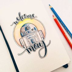 Looking for star wars bullet journal theme ideas? We have collected that will make you excited to add the force to your notebook! May Bullet Journal, Bullet Journal Themes, Bullet Journal Layout, Bullet Journal Inspiration, Journal Ideas, Movie Bullet, Star Wars Drawings, Art Drawings, Drawing Stars