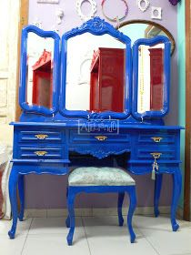 Ateliando - Customização de móveis antigos: Penteadeiras Antigas Ateliando...
