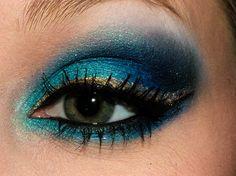 """I Heart Sugarpill"" Blue Eye Makeup Tutorial by Ashley C.!"