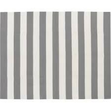 gray and white striped rug - Google Search