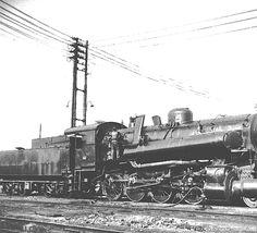 Locomotiva a vapore FS-743.... - Deposito lok.  di Alessandria (I) - 08 giu 1960 - © Umberto Garbagnati -
