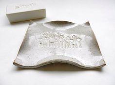 Ceramic soap dish clay soap dish pottery soap by potteryhearts