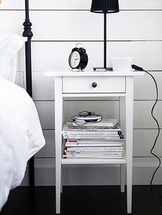 1000 images about bedroom on pinterest side tables - Mesilla hemnes ikea ...