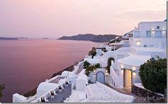 Canaves Oia Hotel, Oia, Santorini, Greece from Dustjacket