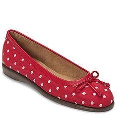 Womens Shoes Aerosoles In Between Red