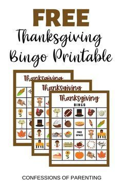 Are you looking for the perfect Thanksgiving game to play with your family? This free Thanksgiving Bingo game is fun and younger kids can participate too! Free Thanksgiving Printables, Thanksgiving Activities For Kids, Thanksgiving Parties, Free Thanksgiving Cards, Free Printables, Thanksgiving Leftovers, Holiday Parties, Bingo For Kids, Kids Fun