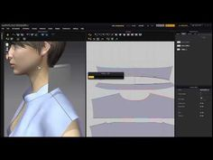 Marvelous Designer Man's White Shirt Sewing: 마블러스 디자이너 와이셔츠 바느질 - YouTube