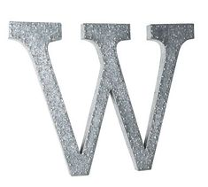 hanging galvanized letters wall art potterybarn