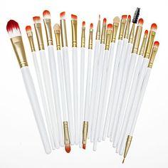 20pcs/set Makeup Brushes Powder Foundation Eyeshadow Eyeliner Lip Brush Set 2016 - $7.99