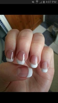 French Gel Nail Extension