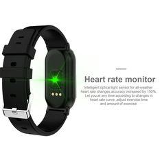 T1 Smart Bracelet gold Online Shopping | Tomtop Smartwatch, Smart Bracelet, Bracelet Watch, Apple Technology, Ios 8, Fitness Watch, Heart Rate Monitor, Light Sensor