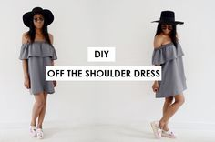 MyStyleDiaryy: DIY OFF THE SHOULDER DRESS