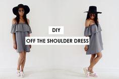 MyStyleDiaryy: DIY OFF THE SHOULDER DRESS