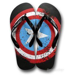 $14.99 Sandalias de Capitán América (Captain America Sandals)