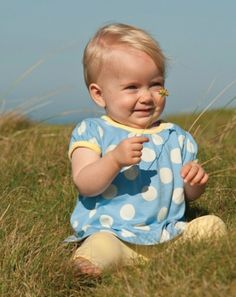 spotty smock top, made from scrumptiously soft organic cotton jersey