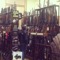 Why to many guns in one store
