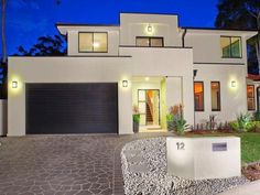 Photo of a brick house exterior from real Australian home - House Facade photo 326934