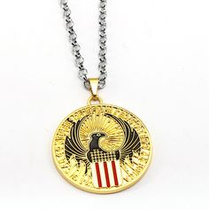 Fantastic Beasts and Where to Find Them Necklace Eagle Pendant Fashion link chain Necklaces Friendship Gift Jewelry Accessories