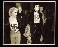 Siouxsie & Debbie Juvenile in Westwood