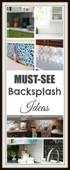 DIY kitchen backsplash with these great ideas! DIY kitchen backsplash with these great ideas! DIY kitchen backsplash with these great ideas! Painting Kitchen Cabinets, Kitchen Backsplash, Backsplash Ideas, Kitchen Counters, Kitchen Flooring, Home Improvement Projects, Home Projects, Home Renovation, Home Remodeling