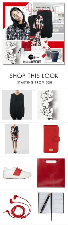 """""""The magazine series J4 -1ereavenue.com"""" by undici ❤ liked on Polyvore featuring Joseph Ribkoff, Élitis, Dolce&Gabbana, Valentino, Gucci, FOSSIL, Smythson, country, women's clothing and women"""