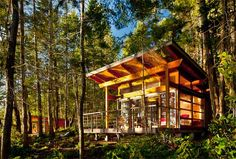 Modern Cabins by Osburn/Clarke Productions, Inc. @ The Modern Cabin