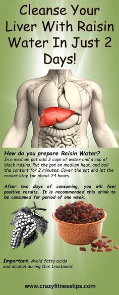 Main function of the liver is integration of proteins and cleansing the blood from poison. Most common issues related with this organ can be: hepatitis A, B and C, cirrhosis, and fatty liver. It is organ which can be reestablished subsequent to being cut. Raisin water is great solution if you want to cleanse your …