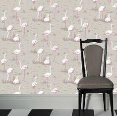 Crazy Flamingo Wallpaper