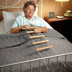 Bed Ladder Is Probably Not What You Think -Craziest Gadgets Creative Inventions, Stroke Recovery, Sensory Rooms, Vision Therapy, Adaptive Equipment, Aging In Place, Occupational Therapist, Therapy Activities, Motor Activities