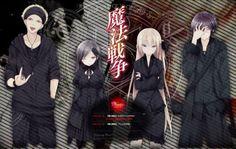 'Magical Warfare' Debuts New Anime Promo Mahou Sensou, Magical Warfare, Manga, Neko, Otaku, Chibi, Darth Vader, Creative, Cartoons