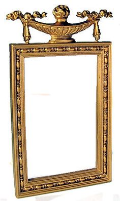 Jim Coates - Mirror with urn top