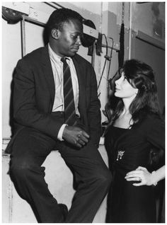 """Sartre to Miles """"Why dont you & Juliette get married?""""  Miles: """"Cause I love her too much to make her unhappy"""" #Jazz"""