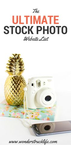 The Ultimate Stock Photo Website List - This is a list of 141 different websites that have great quality stock photos for personal and commercial use. These sites range from free to paid, from a single photographer to a bunch of them.