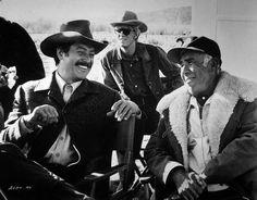 SHOWDOWN - Rock Hudson talks with director George Seaton