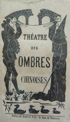 théâtre Sérapghin théâtre d`ombres ombres chinoises silhouettes marionnettes