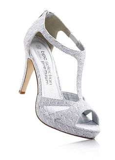 9cf7afda2bdf1 T-Bar Silver Party Sandals Glitz And Glam