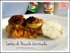 Portuguese Recipes, Portuguese Food, Fish Recipes, Mashed Potatoes, Paleo, Low Carb, Chicken, Meat, Healthy