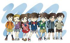 Detective Conan Case Closed Sera Masumi Suzuki Sonoko Mori Ran Edogawa Conan Kudo Shinichi Kuroba Kaito Magic Kaito Kid Hattori Heiji Takagi Wataru