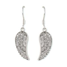 Angel wing earrings to watch over you.  jgabrieldesigns.com
