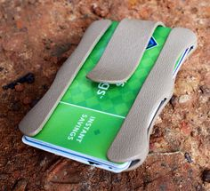 The Milliam kydex money clip. Built by hand for cards, bills, and multiple functionalities.