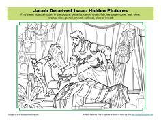 Jacob Deceived Isaac Hidden Pictures Activity