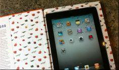 Haz una funda para tablet con un libro viejo [DIY]