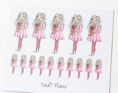 Planner stickers ♥ Perfect for your filofax / erin condren planner etc