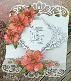2 ways to craft paper Lilies: Basics of flower shaping - Heartfelt Creations
